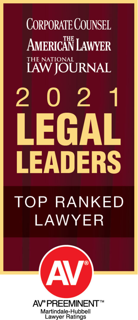 Joshua Grabar is a 2021 legal leader and top ranked lawyer